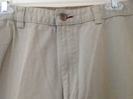 Khaki 5 Pocket Casual Pants Button and Zipper Closure Route 66 Size 36 by 34 image 5