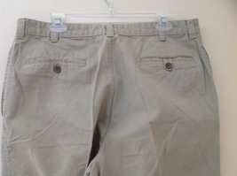 Khaki 5 Pocket Casual Pants Button and Zipper Closure Route 66 Size 36 by 34 image 6