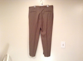 Kenneth Cole Reaction Size 36 by 30 Light Brown Pleated Front Dress Pants image 2