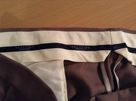 Kenneth Cole Reaction Size 36 by 30 Light Brown Pleated Front Dress Pants image 6