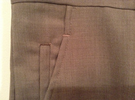 Kenneth Cole Reaction Size 36 by 30 Light Brown Pleated Front Dress Pants image 4