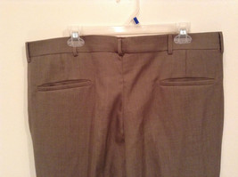 Kenneth Cole Reaction Size 36 by 30 Light Brown Pleated Front Dress Pants image 5