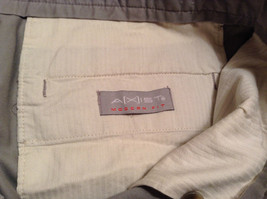 Khaki 100 Percent Cotton Axist Modern Fit Casual Pants Size 36 by 32 image 9