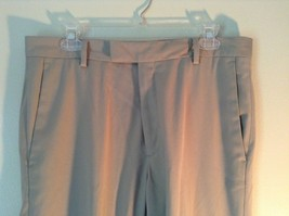 Kenneth Cole Reaction Tan Pleated Dress Pants  Size 32 by 34 image 3