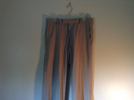Kenneth Cole Reaction Tan Pleated Dress Pants  Size 32 by 34 image 2