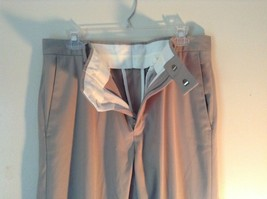 Kenneth Cole Reaction Tan Pleated Dress Pants  Size 32 by 34 image 4