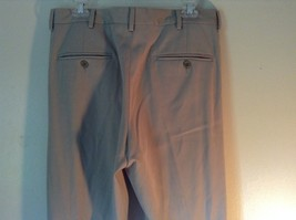 Kenneth Cole Reaction Tan Pleated Dress Pants  Size 32 by 34 image 6