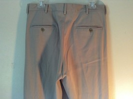 Kenneth Cole Reaction Tan Pleated Dress Pants  Size 32 by 34 image 7