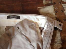 Kenneth Cole Reaction Tan Pleated Dress Pants  Size 32 by 34 image 9