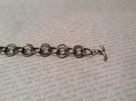 Gun Metal Steam Punk Handmade Ring Bracelet image 3
