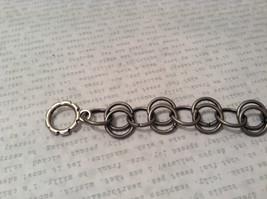 Gun Metal Steam Punk Handmade Ring Bracelet image 2