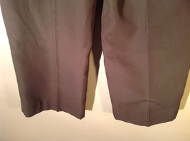 Habands Fit Forever Gray with a Very Subtle Green Dress Pants Size 40 XS image 6