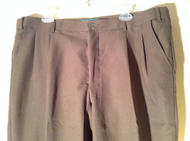 Habands Fit Forever Gray with a Very Subtle Green Dress Pants Size 40 XS image 3