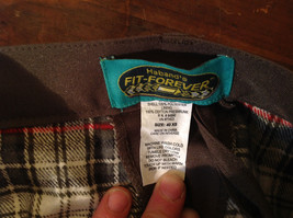 Habands Fit Forever Gray with a Very Subtle Green Dress Pants Size 40 XS image 7