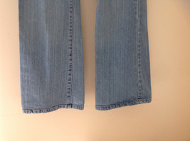 L A Blues Light Wash Denim Five Pocket Jeans Size 9M Petite image 4