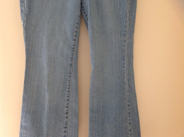 L A Blues Light Wash Denim Five Pocket Jeans Size 9M Petite image 3