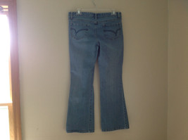 L A Blues Light Wash Denim Five Pocket Jeans Size 9M Petite image 6