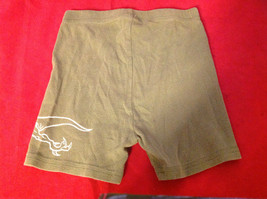 Kids Green Shorts with Picture of Dragon on Leg in White Size 6 image 5