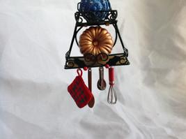 Hallmark Keepsake  2005 O Kitchen Rack Ornament Tie Attached image 6