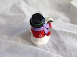 Hallmark Keepsake Snow Buddies Snowman and Skunk Ornament NIB image 4