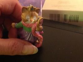 Hallmark ornament Kitty Cat Princess My Third Christmas ornament NO BOX image 4