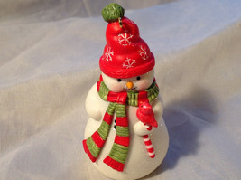 Hallmark Happy Little Snowman with Red Scarf and Hat Ornament Original Box image 3