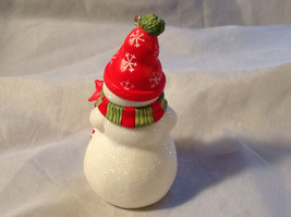 Hallmark Happy Little Snowman with Red Scarf and Hat Ornament Original Box image 4