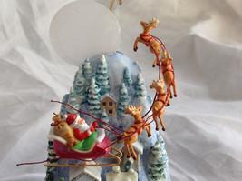 Hallmark Keepsake The Sleeping Village with Santa on Sled Ornament image 2