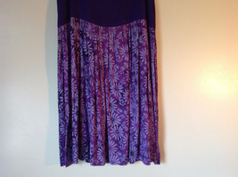 Hand Made Purple Sleeveless Dress Perfect for Summer Measurements Below image 4