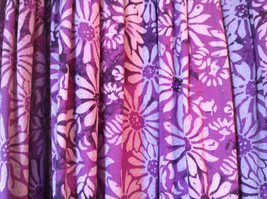 Hand Made Purple Sleeveless Dress Perfect for Summer Measurements Below image 6
