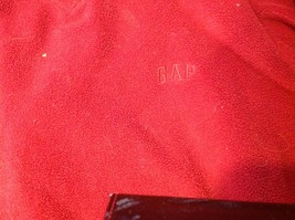 Ladies GAP Red Hooded Sweater Size XL image 3