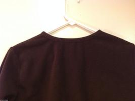 Lands End Dark Brown Fleece 100% Polyester Sweatshirt Sweater, Size L (14-16) image 6