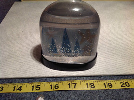 Handmade Snow Globe with Tree Scene with Stars Supports Artist image 9