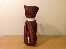 Handmade by Caroline Hallak NEW Personal Touch Gift Wine Bag Bronze Brown image 2