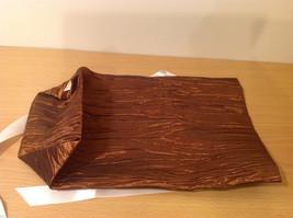 Handmade by Caroline Hallak NEW Personal Touch Gift Wine Bag Bronze Brown image 6