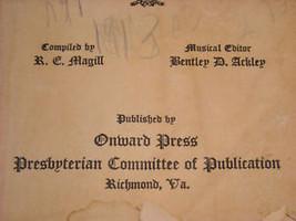 Life and Service Hymns Onward Press 1917 image 5
