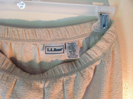 Light Brown L L Bean Long Maxi A Line Elastic Waisted Skirt Size Small Regular image 3