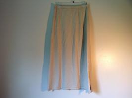 Light Brown L L Bean Long Maxi A Line Elastic Waisted Skirt Size Small Regular image 2