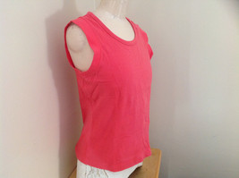Hanes Pink Sleeveless Shirt Made in Bangladesh Size XL image 2