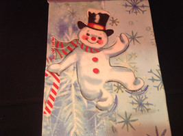 Happy Dancing Snowman Christmas Dish Towel by Fiddlers Elbow Absorbent Lint Free image 5
