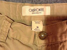 Light Gray Cherokee Cargo Shorts Size 16 image 6