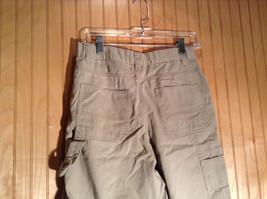 Light Gray Cherokee Cargo Shorts Size 16 image 4