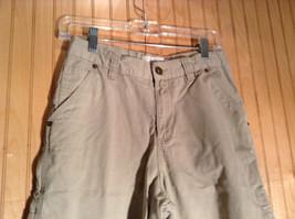 Light Gray Cherokee Cargo Shorts Size 16 image 2