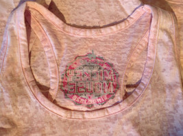 Light Pink Original Mickey Mouse Tank Top Mickey Mouse on Front  Size XS image 9