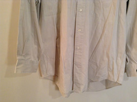 Light Gray 100 Percent Cotton Long Sleeve Ralph Lauren Shirt Size M Button Up image 5