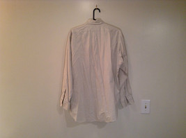 Light Gray 100 Percent Cotton Long Sleeve Ralph Lauren Shirt Size M Button Up image 2