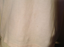Light Pink T Shirt Non Corrosive Bits on Front in Green O'Halloran Co Size Large image 5