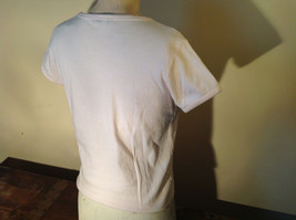 Light Pink T Shirt Non Corrosive Bits on Front in Green O'Halloran Co Size Large image 7