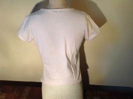 Light Pink T Shirt Non Corrosive Bits on Front in Green O'Halloran Co Size Large image 9