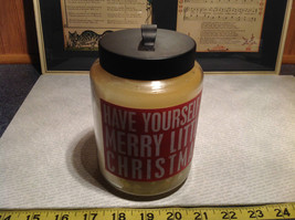 Have Yourself A Merry Little Christmas Sugar Cook Jar Candle Six Inches High image 7